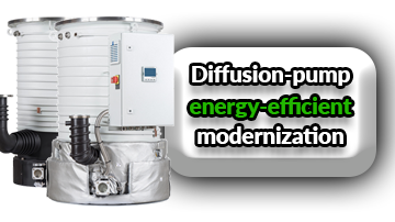 Optimization of the diffusion pump